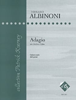 Adagio ALBINONI Partition Guitare - laflutedepan