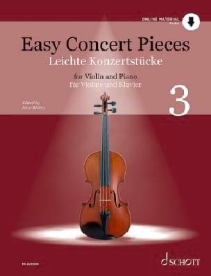 - Easy Concert Pieces 3 - Violon et Piano - Partition - di-arezzo.fr