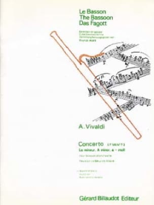 Concerto F. 8 n° 7 en la mineur - VIVALDI - laflutedepan.com