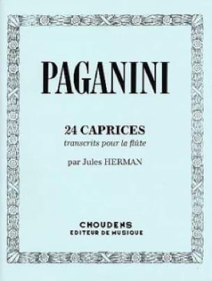 24 Caprices - PAGANINI - Partition - laflutedepan.com