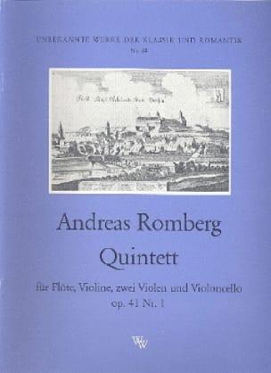 Quintett op. 41 n° 1 - Flöte Violine 2 Violen Cello - Stimmen - laflutedepan.com
