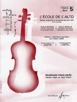 Frédéric Lainé - La escuela de viola - Volumen 5 - Partition - di-arezzo.es