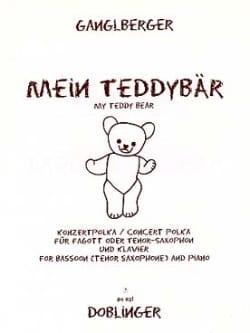 Mein Teddybär -Fagott oder Tenor-Saxophon laflutedepan