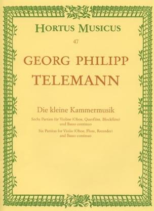 Die kleine Kammermusik - TELEMANN - Partition - laflutedepan.com
