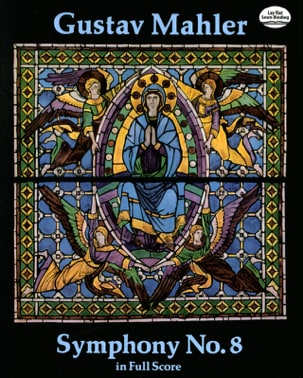 Symphonie N° 8 - Full Score MAHLER Partition laflutedepan
