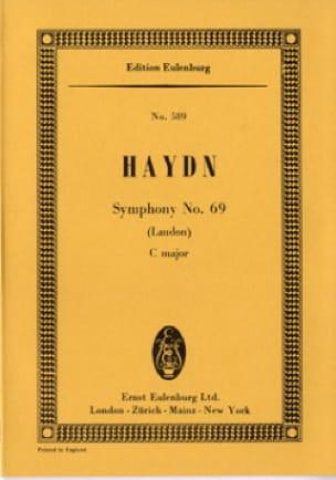 Symphonie Nr. 69 C-Dur - HAYDN - Partition - laflutedepan.com