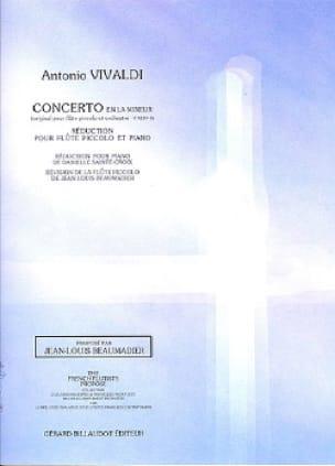 Concerto en la mineur F. 6 n° 9 - Piccolo piano - laflutedepan.com