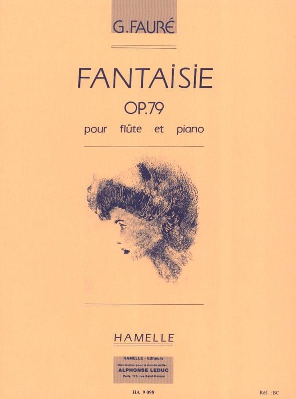 Fantaisie Op. 79 - FAURÉ - Partition - laflutedepan.com