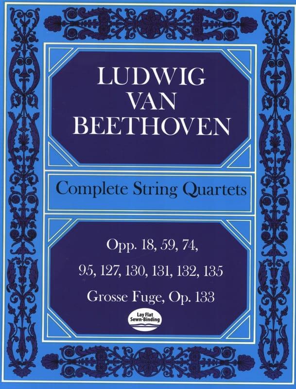 Intégrale des quatuors à cordes - Conducteur - laflutedepan.com