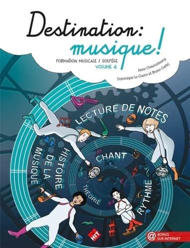 Destination Musique ! Volume 4 - Partition - laflutedepan.com