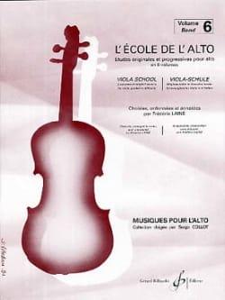 Frédéric Lainé - The viola school Volumen 6 - Partition - di-arezzo.es