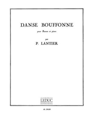 Danse bouffonne Pierre Lantier Partition Basson - laflutedepan