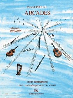 Arcades Pascal Proust Partition Contrebasse - laflutedepan
