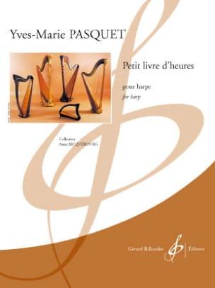 Petit livre d'heures Yves-Marie Pasquet Partition Harpe - laflutedepan