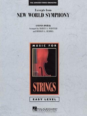 Excerpts from New World Symphony - score & parts DVORAK laflutedepan