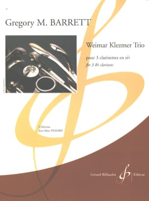 Weimar Klezmer Trio Gregory M. Barrett Partition laflutedepan
