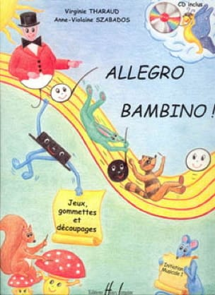 Allegro Bambino - Partition - Solfèges - laflutedepan.com