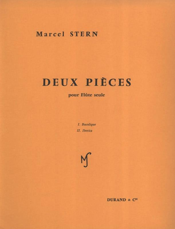 2 Pièces - Flûte seule - Marcel Stern - Partition - laflutedepan.com