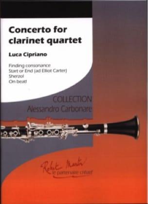 Concerto for Clarinet Quartet - 4 Clarinettes - laflutedepan.com