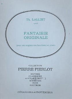 Fantaisie Originale, Op. 6 - Cor Anglais-Piano laflutedepan