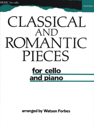 Classical and romantic pieces Watson Forbes Partition laflutedepan