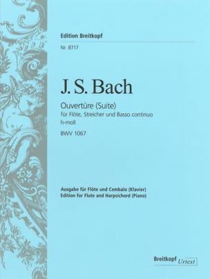 Suite N°2 En Si Mineur - BWV 1067 BACH Partition laflutedepan