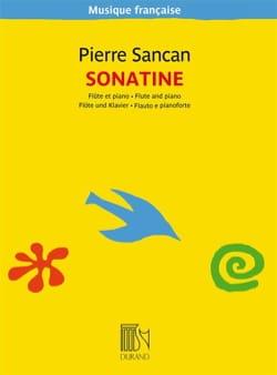 Sonatine pour flûte et piano Pierre Sancan Partition laflutedepan