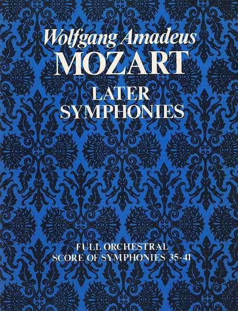 Later Symphonies N° 35-41 - Full Score - Conducteur - laflutedepan.com