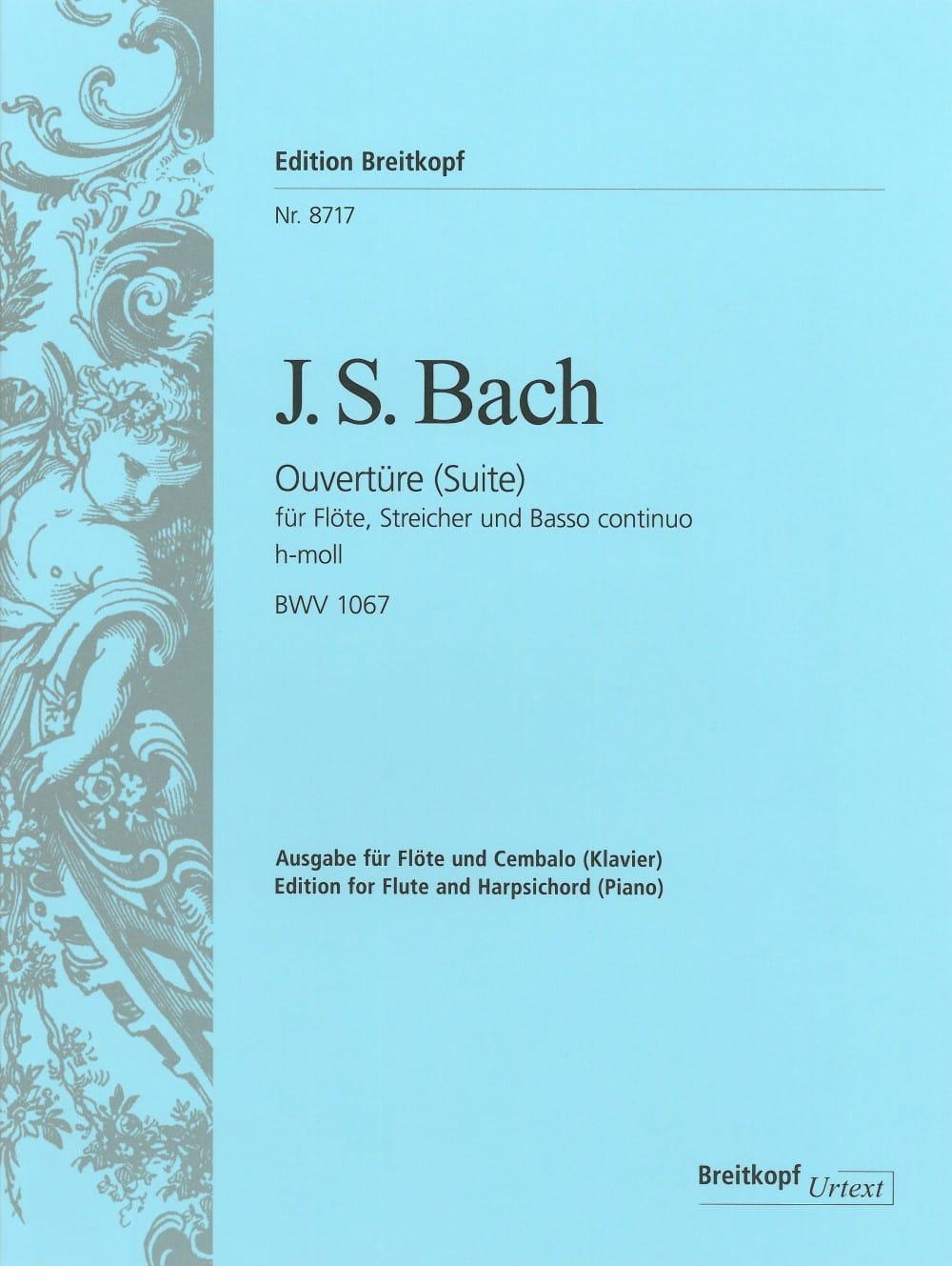 Suite N°2 En Si Mineur - BWV 1067 - BACH - laflutedepan.com