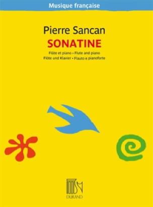 Sonatine pour flûte et piano - Pierre Sancan - laflutedepan.com