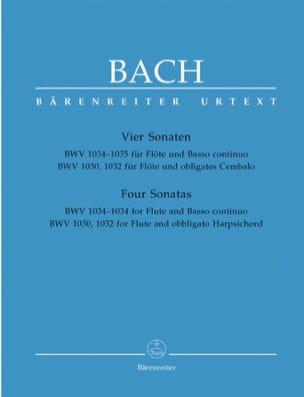 Sonates pour Flûte et Clavecin ou Basse continue BACH laflutedepan