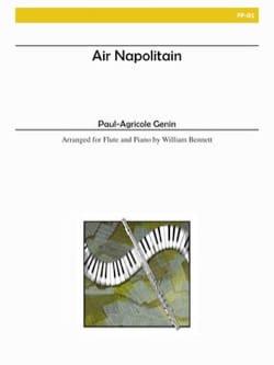 Air napolitain op. 8 - Paul Agricole Génin - laflutedepan.com