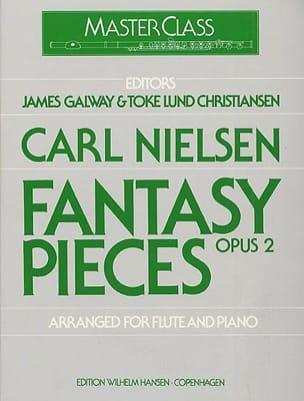 Fantasy pieces op. 2 - Flute piano NIELSEN Partition laflutedepan