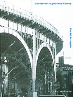 Sonate - Daniel Schnyder - Partition - Basson - laflutedepan.com