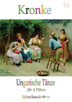 Ungarische Tänze Opus 104 Emil Kronke Partition laflutedepan