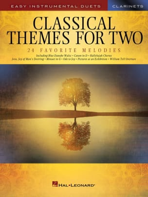 Classical Themes for Two - 2 Clarinettes Partition laflutedepan