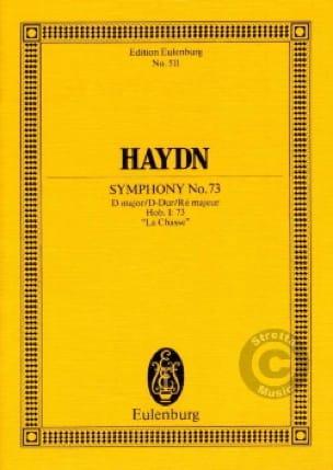 Sinfonie Nr. 73 D-Dur - HAYDN - Partition - laflutedepan.com