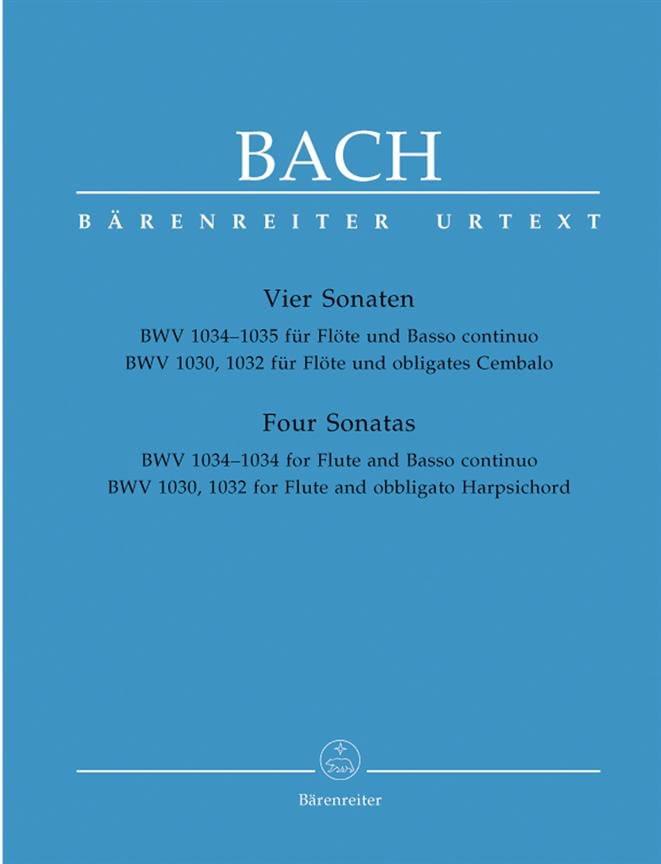 Sonates pour Flûte et Clavecin ou Basse continue - laflutedepan.com