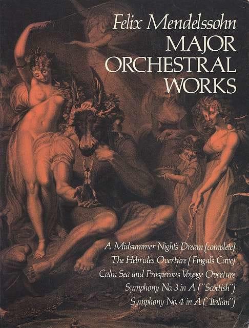 Major Orchestral Works - MENDELSSOHN - Partition - laflutedepan.com
