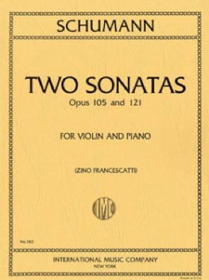 2 Sonatas op. 105 and op. 121 - SCHUMANN - laflutedepan.com
