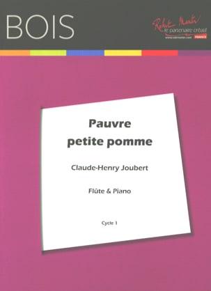Pauvre petite pomme Claude-Henry Joubert Partition laflutedepan