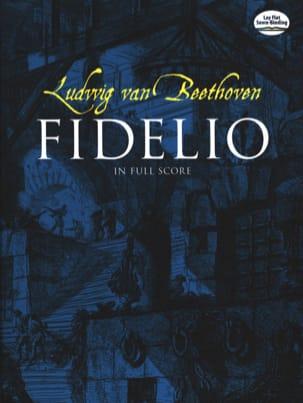 Fidelio, Opéra - Conducteur BEETHOVEN Partition laflutedepan
