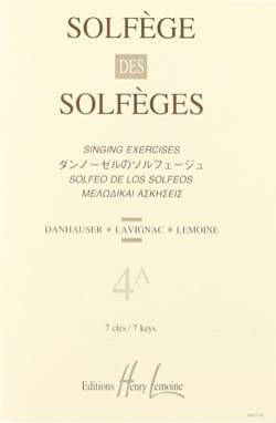 Volume 4a - S/A - Solfège des Solfèges Lavignac Partition laflutedepan
