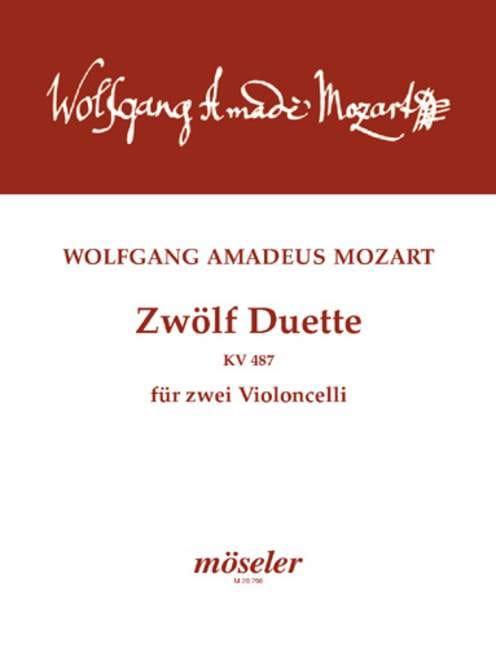 Zwölf Duette für zwei Violoncelli - MOZART - laflutedepan.com