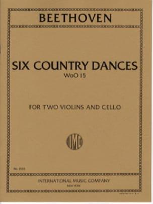 6 Country Dances -2 Violins cello - Score + Parts - laflutedepan.com
