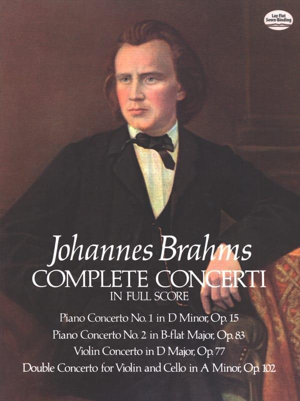 Complete Concerti - Full Score - BRAHMS - Partition - laflutedepan.com