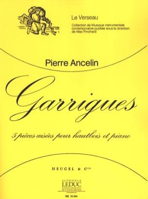 Garrigues Pierre Ancelin Partition Hautbois - laflutedepan