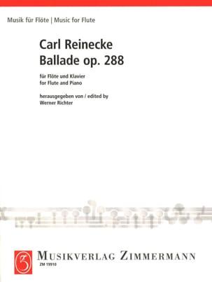 Ballade Op. 288 Carl Reinecke Partition laflutedepan