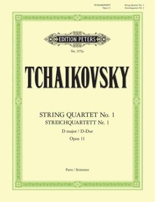 Quatuor à cordes en ré majeur Op. 11 - parties instrumentales laflutedepan