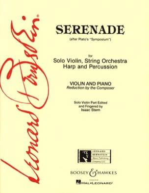 Serenade BERNSTEIN Partition Violon - laflutedepan